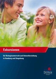 Exkursionen für Biologieunterricht und Umwelterziehung