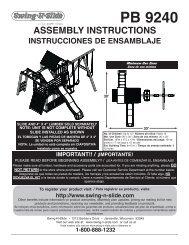 Assembly Instructions / Instrucciones de ensamblaje - Home Depot