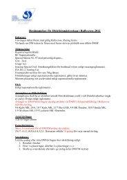 Bestämmelser för Distriktsmästerskap i Rallycross 2012