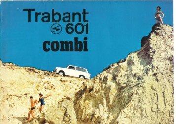 Trabant 601 combi - Original Trabant