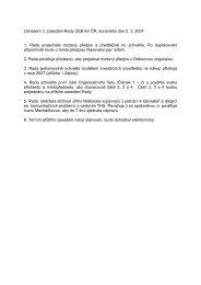 Usnesení 3. zasedání Rady ÚEB AV ČR, konaného dne 5. 3. 2007 1 ...