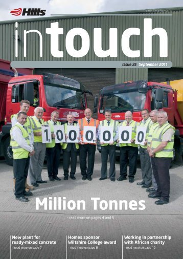 Million Tonnes - Hills Group