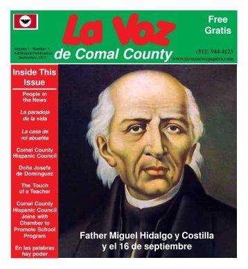 La Voz de Comal County revised.pmd - La Voz Newspapers