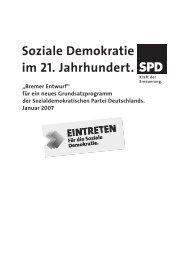Bremer Entwurf - Hilfe und Info - sozi