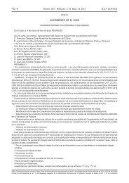 Acuerdo Retributivo Personal Funcionario Ayuntamiento de El Ejido