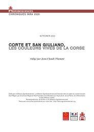 Corte et San Giuliano : Â« Les couleurs vives de la Corse - Mission d ...