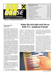 staatliche Prämie! - Raiffeisen Landesbank Tirol