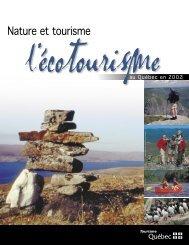 Nature et tourisme - Tourisme Québec - Gouvernement du Québec