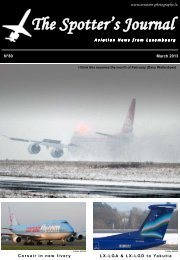 March 2013 - Aviation Photography Luxembourg