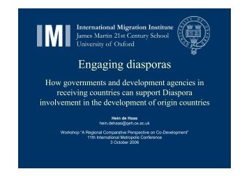 Engaging diasporas