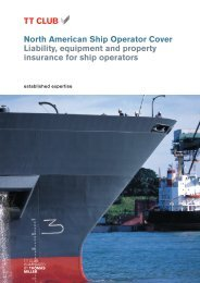 North American Ship Operator Cover 01 - TT Club