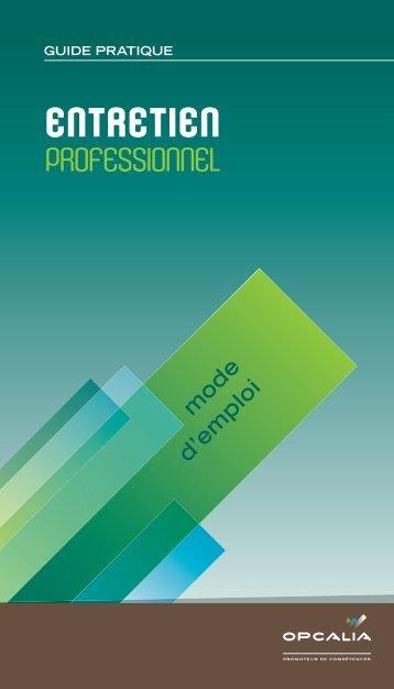Entretien professionnel - Centre Inffo