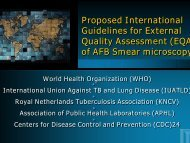Proposed EQA - Centers for Disease Control and Prevention