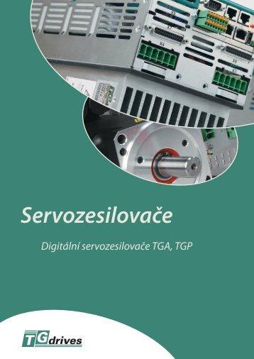 Digitální servozesilovače TGA 300 - TG Drives