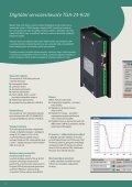 Digitální servozesilovače TGA 300 - TG Drives - Page 6