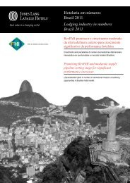 Hotelaria em números Brasil 2011 Lodging industry in ... - FOHB