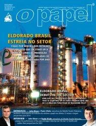 ELDORADO BRASIL ESTREIA NO SETOR - Revista O Papel