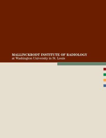 MIR Overview - Mallinckrodt Institute of Radiology - Washington ...