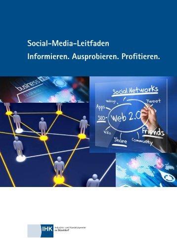 Social-Media-Leitfaden Informieren ... - IHK zu Düsseldorf