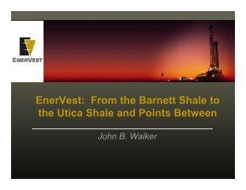 EnerVest in the Barnett Shale