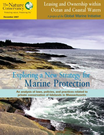 Exploring a New Strategy for Marine Protection: An analysis of laws ...