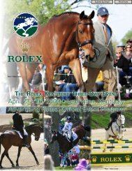 Print Form Submit by Email - Rolex Kentucky Three-Day Event