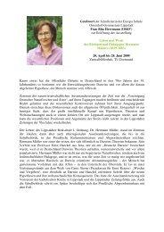 Grußwort von Frau Rita Herrmann (OStD - Biologie TU Dortmund