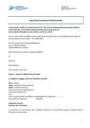 Contrat de Formation Professionnelle - Timone.univ-mrs.fr ...
