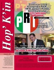 Obsesión derecha-izquierda por frenar al PRI rumbo a Los Pinos