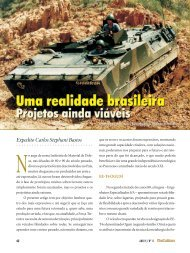 artigos - Uma realidade brasileira - Projetos ainda viáveis - FunCEB