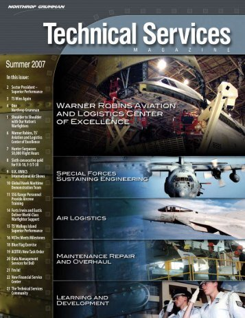Technical Services Magazine • Summer 2007 - Northrop Grumman ...