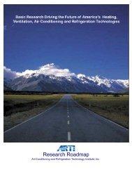 ARTI Research Roadmap - AHRI