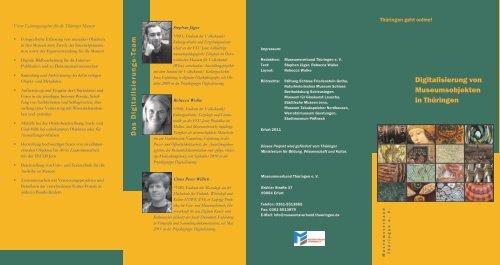 Projektgruppe Digitalisierung im Museumsverband Thüringen