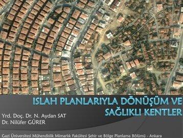 ıslah-planlarında-dönüå... - Türkiye Sağlıklı Kentler Birliği