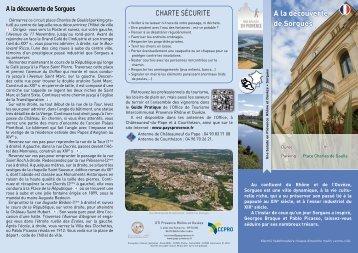 A la découverte de Sorgues - CCPRO