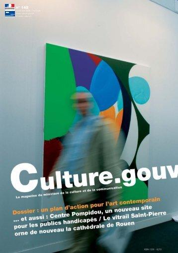 n° 142 / novembre - Ministère de la Culture et de la Communication