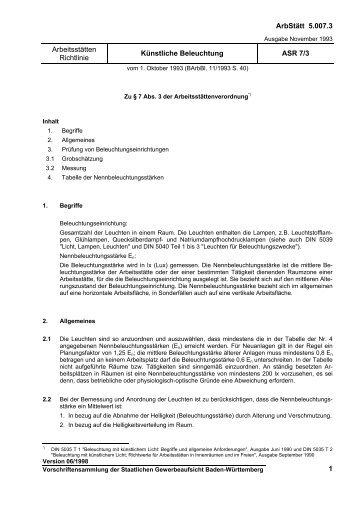 ASR 41/3 - Rückengerechtes Arbeiten im Gesundheitsdienst