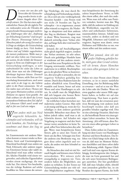Heft 41 Tibet & Buddhismus