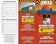 2013 Camp Brochure/Application - Florida International Athletics