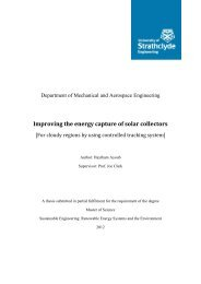 Improving the Energy Capture of Solar Collectors for Cloudy ...