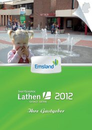 Gastgeberverzeichnis - Samtgemeinde Lathen