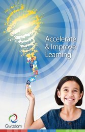 Accelerate & Improve Learning - Qwizdom