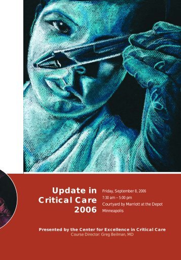 Update in Critical Care 2006 - University of Minnesota Continuing ...