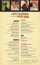 CAFÉ CALATRAVA