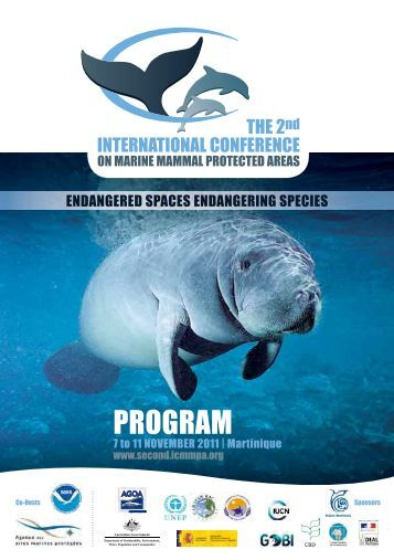 PROGRAM - Second International Conference on Marine Mammal ...