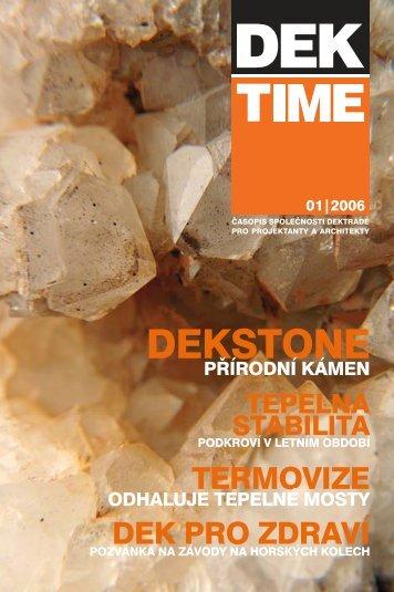 stáhnout DEKTIME 2006/01 - Atelier DEK