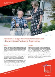 Eastern Shires Purchasing Organisation - East Midlands Councils