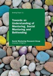 Social Mentoring - Scottish Mentoring Network