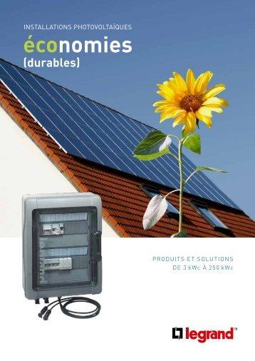 Brochure Photovoltaïque - Legrand
