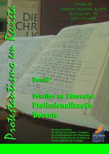 Protestantismo em Revista - Faculdades EST